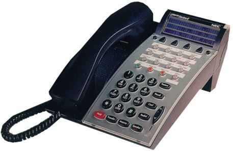 nec dtp 16d 1 dterm series e 16 button display telephone set rh tsrc com nec dterm phone instructions nec dterm 80 user manual