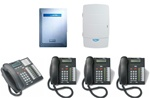 Norstar Package #151 - 3x8 System with Voicemail and 4 Phones