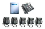 Norstar Package #162 - 3x8 System with 6 Phones