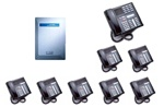 Norstar Package #163 - 3x8 System with 8 Phones
