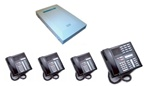 Norstar Package #261 - 6x16 System with 4 Phones