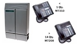 Norstar Package #361 - 8x24 System with 15 Phones
