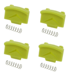 Replacement Clips for SpectraLink 8400 Quad Charger, 4 clips per package