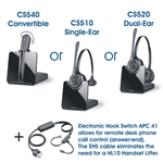 Plantronics Wireless Headset for Cisco IP Phones CP-7945G and CP-7942G