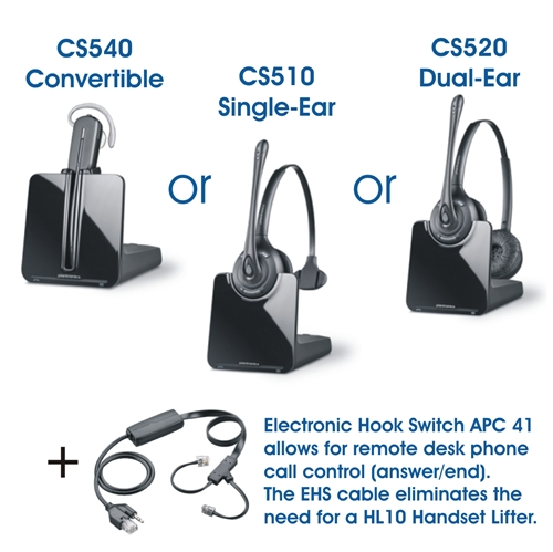 Plantronics Wireless Headsets for CISCO IP Phones 7945G and 7942G