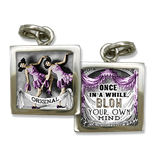 jewelry charm encouragement to be bold and be fabulous