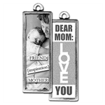 Friend Mom, Mom, Dear MOM, Love You,  Photo charms, Pick Up Sticks Jewelry, Collage charms, Photo jewelry, Vintage Photo charms, Photo charms, Pick Up Sticks Jewelry, Collage charms, Photo jewelry, Vintage Photo charms