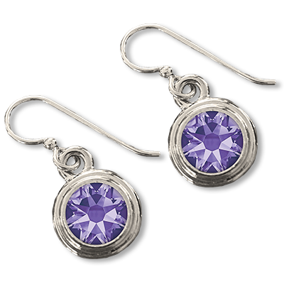 Tanzanite (December) Earring Wires