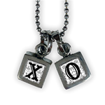 XO Chicklet Necklace