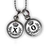 XO Monogram Necklace