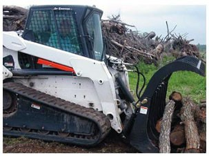 "72"" Heavy-duty Brush and Rock Grapple"