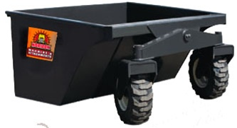 Skid Steer Dumping Box