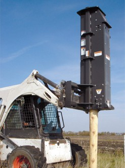 Skid Steer Post Driver
