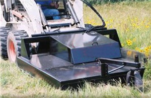 "Skid Steer 72"" High Flow Rotary Brush Mower"