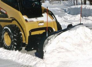"Skid Steer 108"" Snow / Light Material Blade"