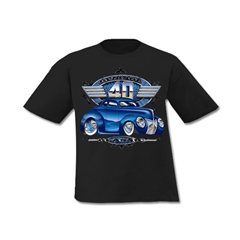 Genuine Blue 40 Youth T-Shirt