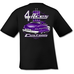 4 Aces Merc Custom T-Shirt