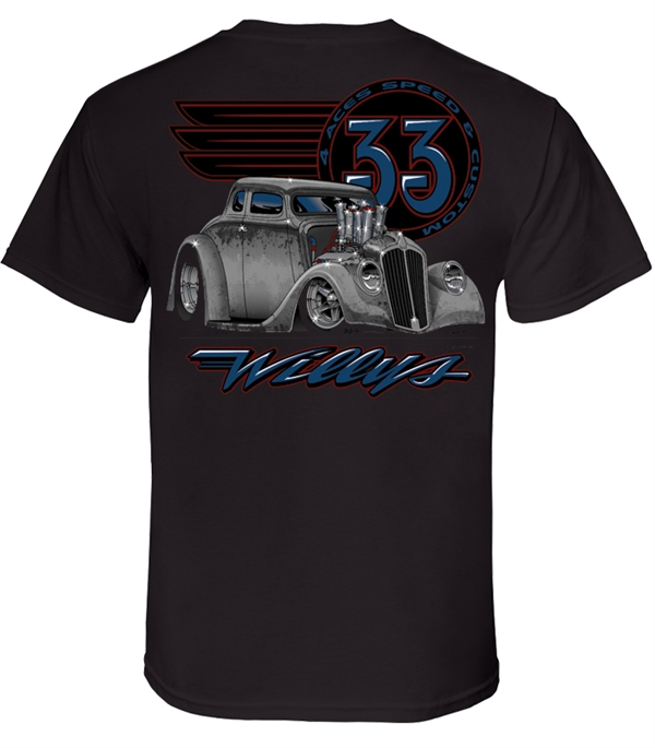 4 Aces 33 Willys T-Shirt