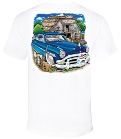 White Lightning Garage T-Shirt