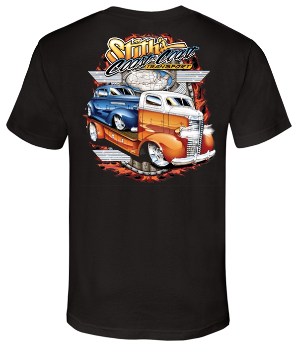 Stith Transport Company Black T-Shirt