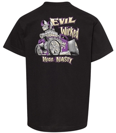 Evil, Wicked, Mean and Nasty Youth T-Shirt