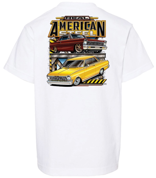 Real American Steel  (White) Youth