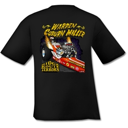 Ridge Route Terrors Warren & Coburn Black T-Shirt by LON