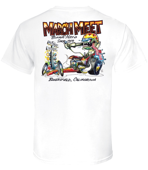 March Meet Monster Digger (White)