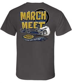 March Meet Buckle Up (Charcoal)