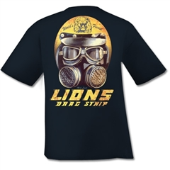 Lions Drag Strip Helmet Design by Mark Lueck
