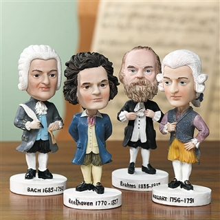 Mozart Bobble Head