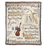 Comfort Music Throw