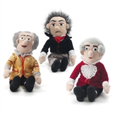 Little Thinker Composer Wind-Up Plush Doll