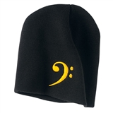 Bass Clef Knitted Beanie