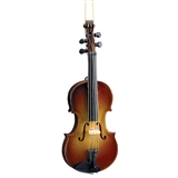 Wood Violin Ornament