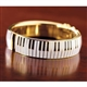 Piano Keys Bangle Bracelet