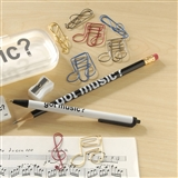 Music Theme Paper Clips