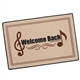 Welcome Bach Doormat