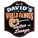 Personalized World Famous Guitar Lounge Sign