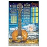 The Guitar Laminated Poster