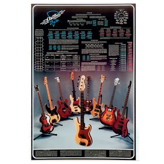 Electric Bass Laminated Poster