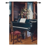 Biltmore Music Room Woven Tapestry