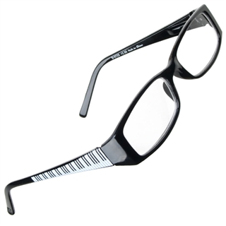 Piano Keys Reading Glasses