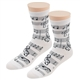 Women's Music Notes Socks