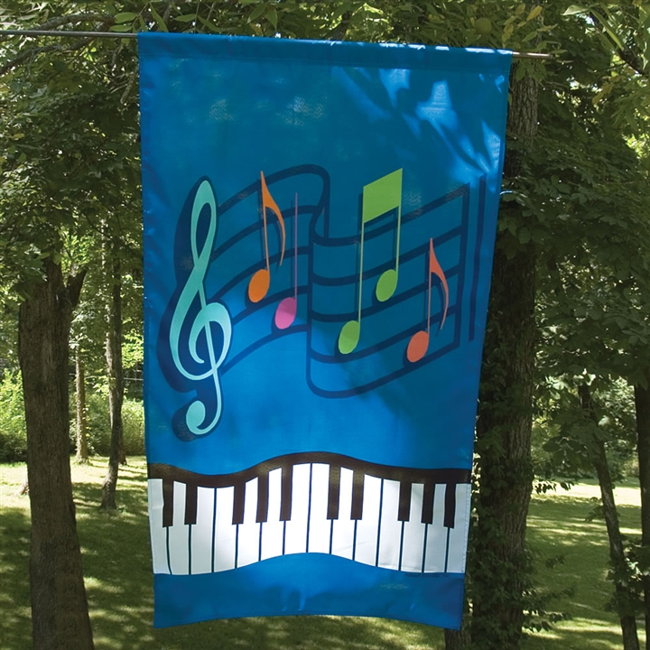 Music U0026 Keyboard Garden Flag