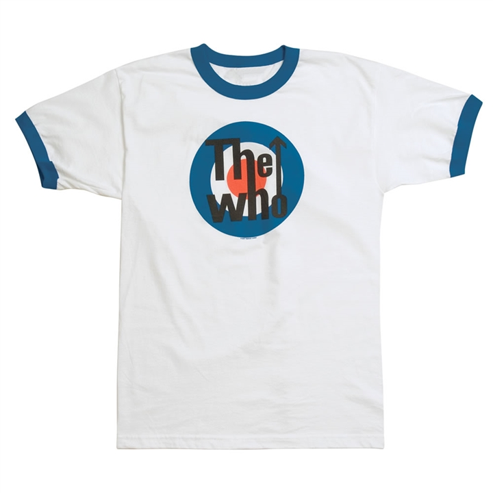 The Who Bullseye Logo T-Shirt at The Music Stand