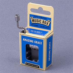 'Amazing Grace' Crankshaft Mini Music Box