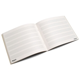 64 Page Six Stave Student Blank Music Book