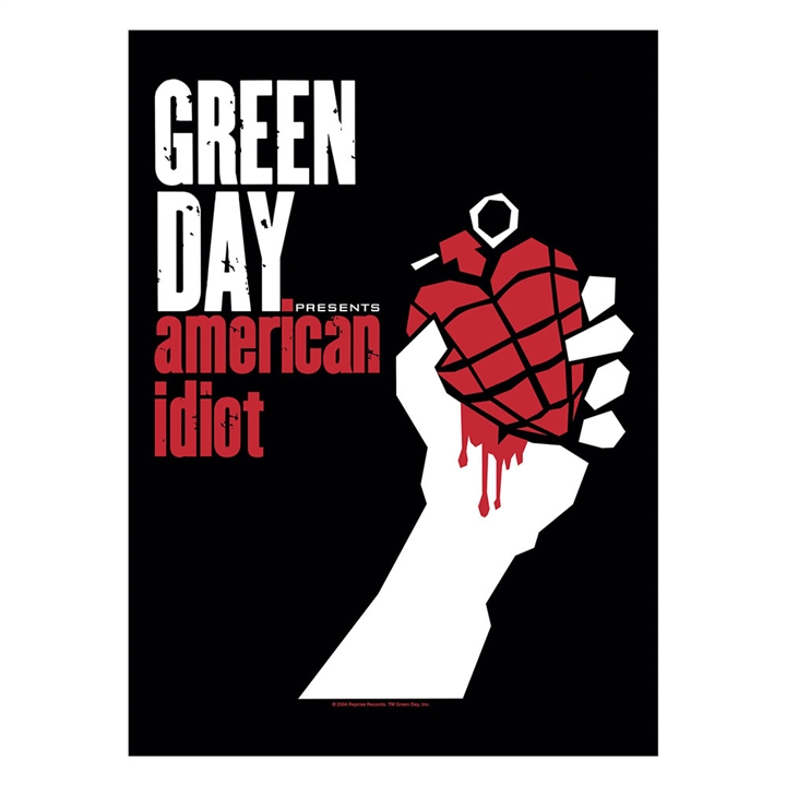 Green DAY American Idiot Poster