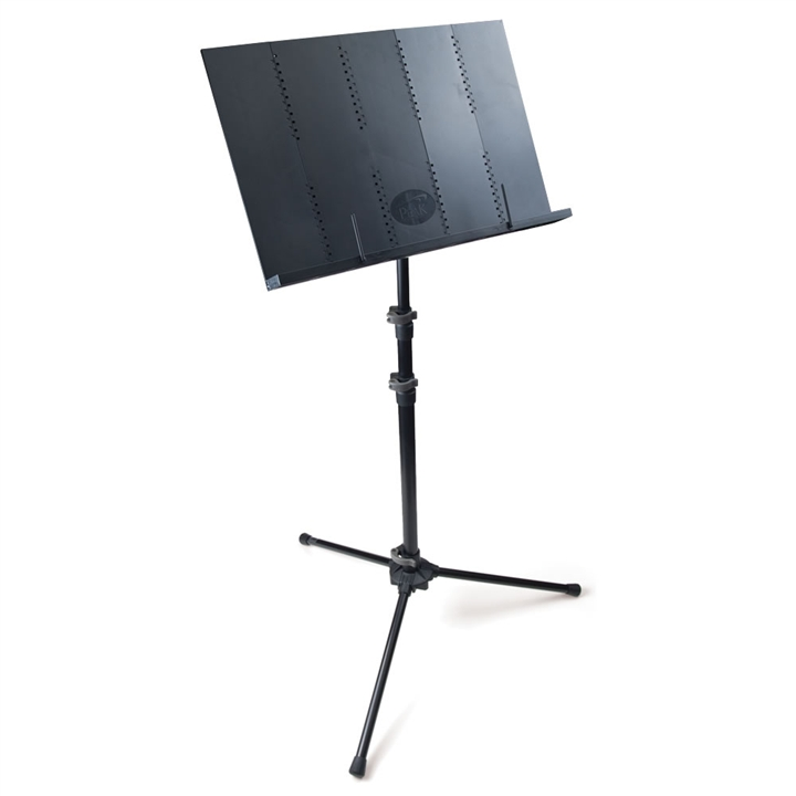 Portable Folding Music Stand With Full Desk At The Music Stand